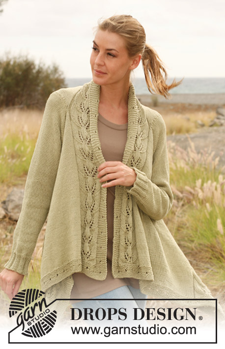 Timeless Grace / DROPS 129-1 - Free knitting patterns by DROPS Design
