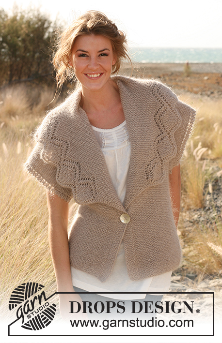 a6eb3502cebd Beautiful You!   DROPS 130-2 - Free knitting patterns by DROPS Design