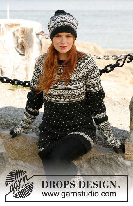 Nordic Night Drops 131 13 Free Knitting Patterns By Drops Design