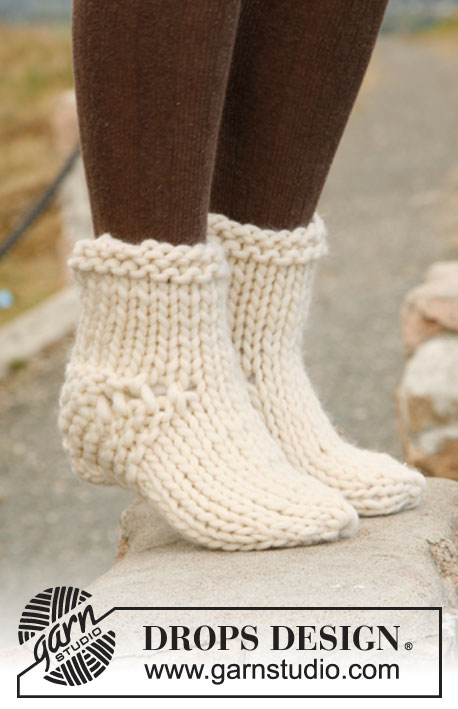 "Softstep / DROPS 131-25 - Chaussettes DROPS en ""Polaris""."