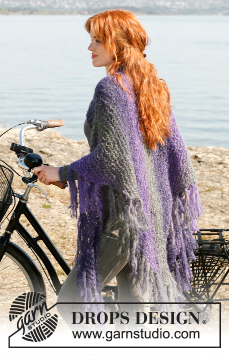 Free Spirit / DROPS 132-19 - Free knitting patterns by DROPS
