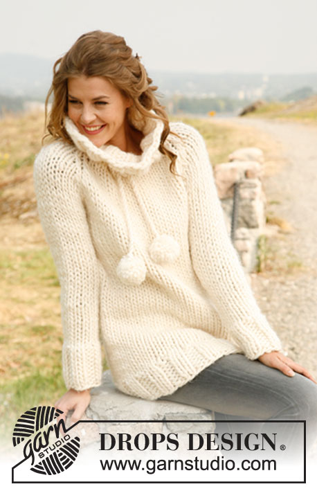 White Dream / DROPS 133-34 - Free knitting patterns by DROPS Design