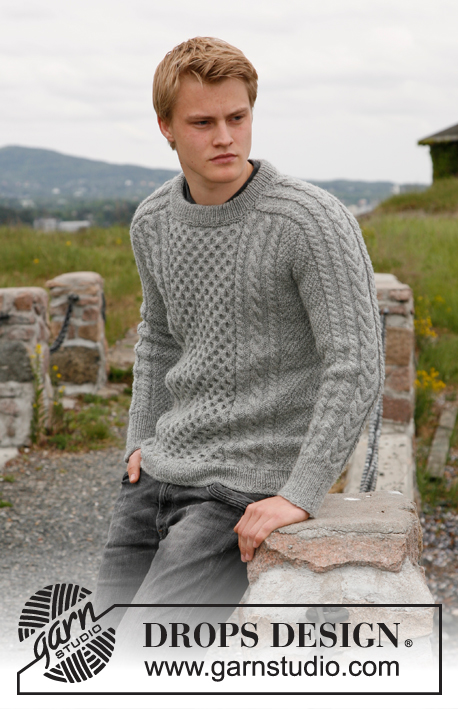 9e4327050 Dreams of Aran   DROPS 135-3 - Free knitting patterns by DROPS Design