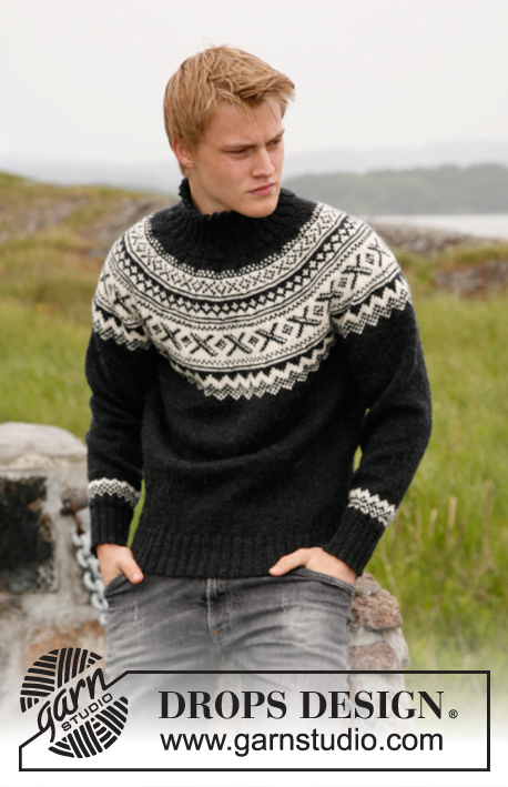 Neville Drops 135 4 Free Knitting Patterns By Drops Design