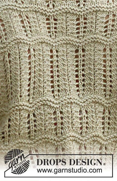 Mystic River / DROPS 136-6 - Free knitting patterns by DROPS Design