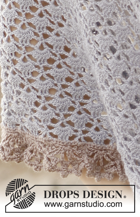 Tranquility Drops 137 29 Modèles Crochet Gratuits De Drops Design