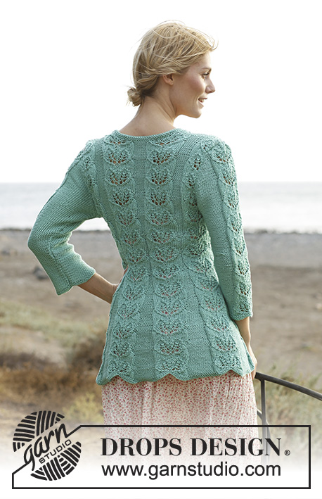 Grace Drops 138 5 Free Knitting Patterns By Drops Design