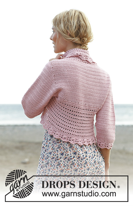 Country Rose Drops 138 6 Free Crochet Patterns By Drops Design
