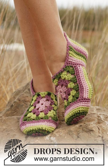 chaussettes au crochet gratuit