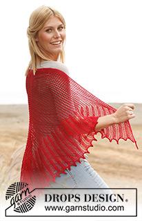 Вяжем шаль на круговых спицах от седины спинки и вниз.  Вязание шали.