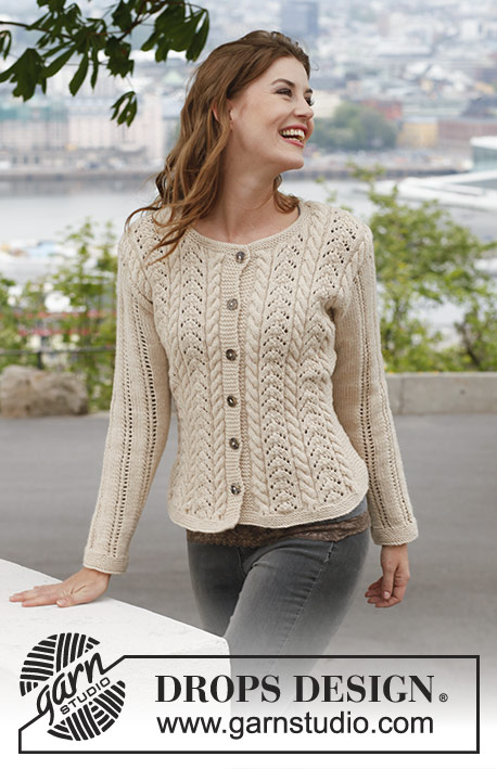 Champagne / DROPS 140-1 - Free knitting patterns by DROPS Design