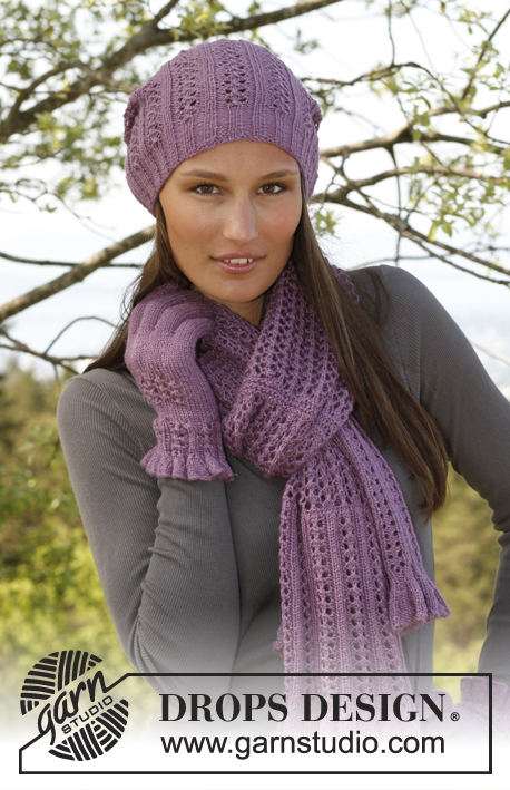 Delilah Drops 142 3 Free Knitting Patterns By Drops Design