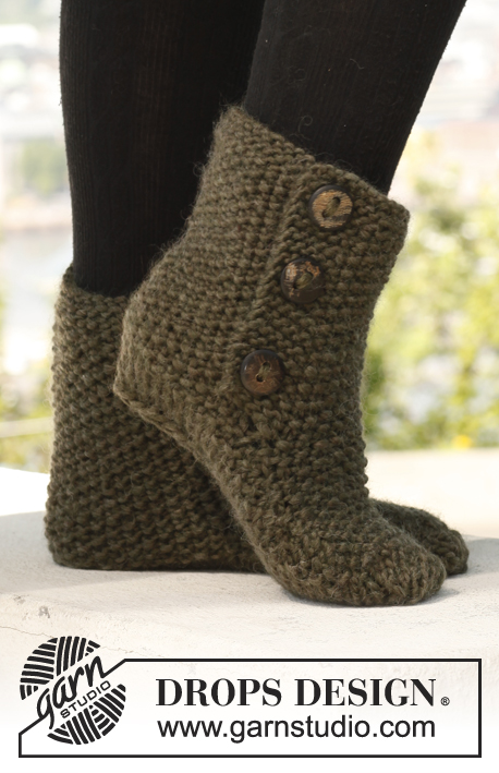 St Louis Boots Drops 142 36 Free Knitting Patterns By Drops Design