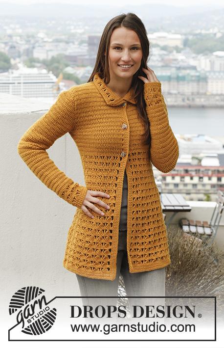 ba699ebaa Jaqueline   DROPS 143-12 - Free crochet patterns by DROPS Design