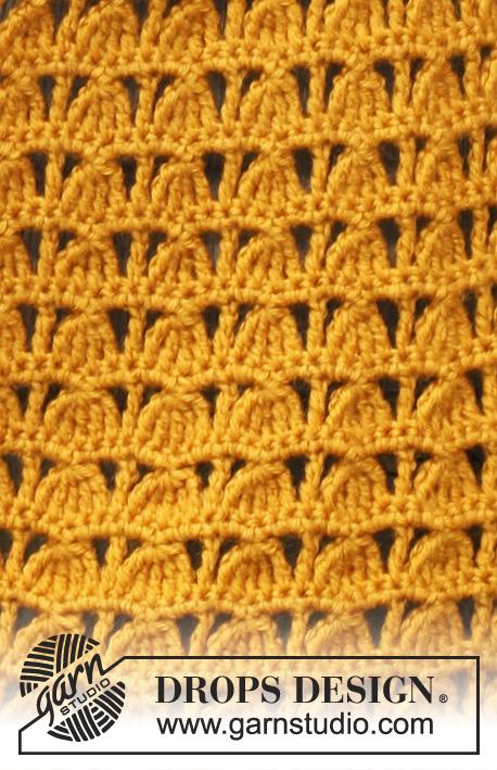 Crochet Patterns Free Drops : Jaqueline / DROPS 143-12 - Free crochet pattern by DROPS ...