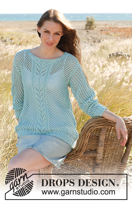 Shell Drops 145 14 Free Knitting Patterns By Drops Design