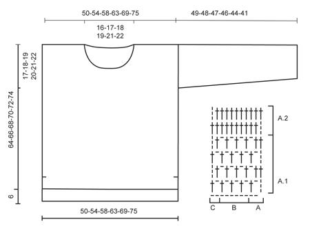 Donna / DROPS 145-19 - Kostenlose Häkelanleitungen von DROPS Design