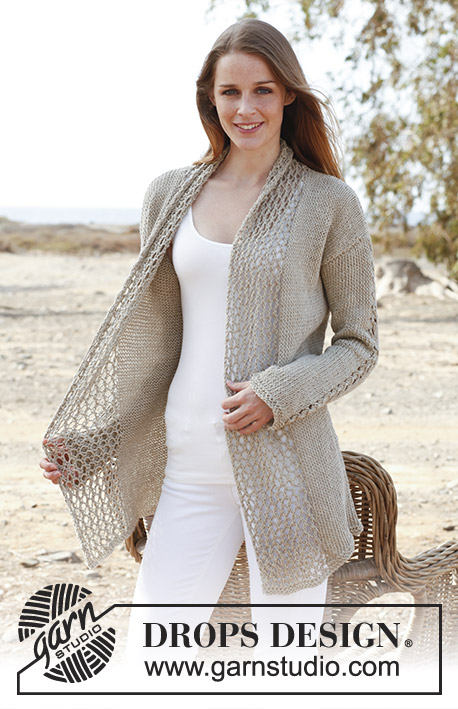 Nathalie Drops 146 1 Free Knitting Patterns By Drops Design