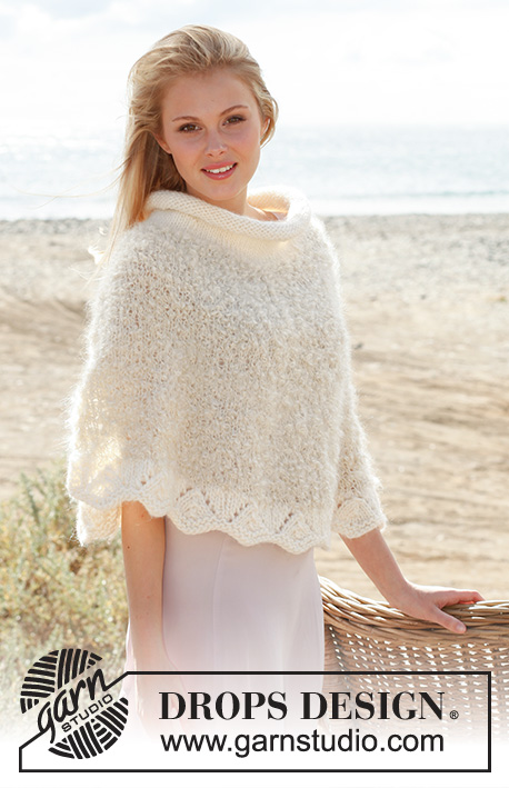Ponchito / DROPS 148-23 - Free knitting patterns by DROPS Design