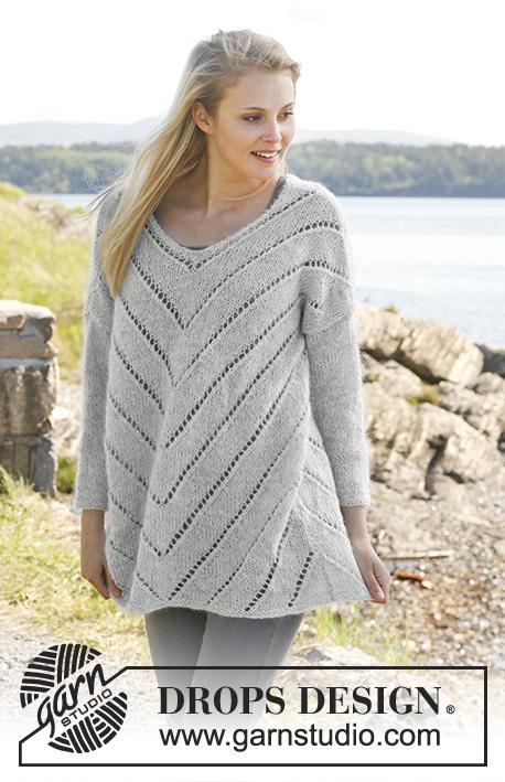 Eva Sweater / DROPS 149-3 - Free knitting patterns by ...
