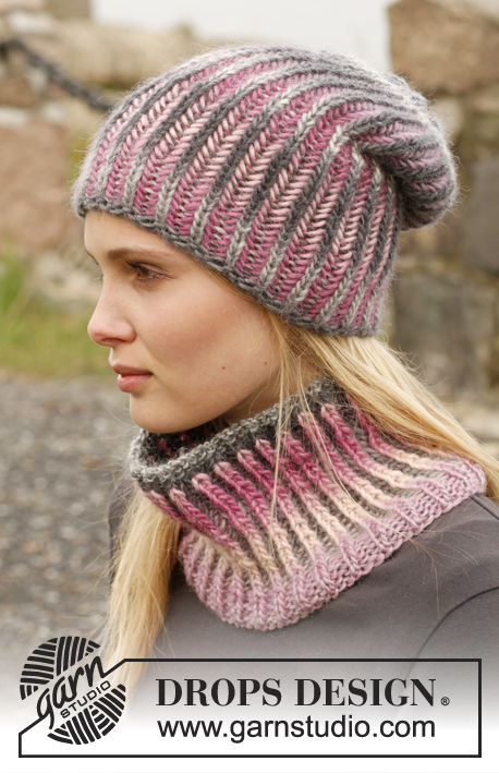 Drops Knitting Patterns : Phoenix / DROPS 151-24 - Free knitting patterns by DROPS Design