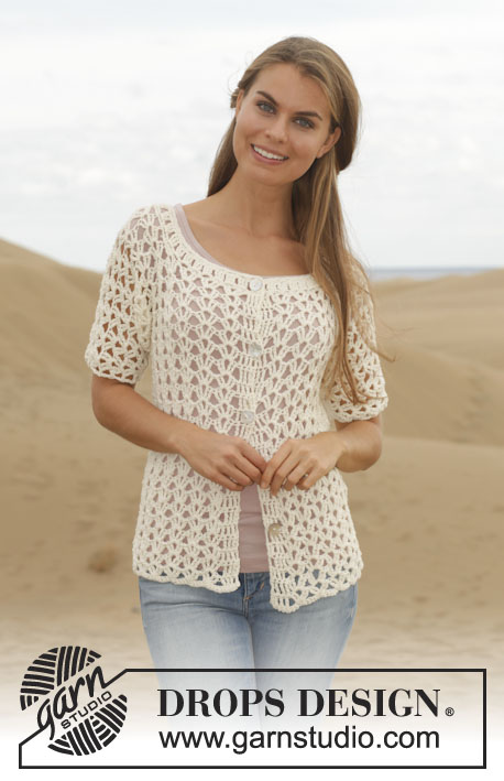 Verano / DROPS 153-14 - Patrones de ganchillo gratuitos por DROPS Design