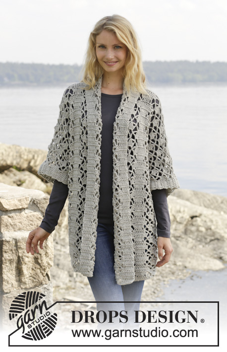 Crochet Jacket Free Pattern Via Garn Studio : Creating Your Crochet Brand - Ambassador Crochet ...