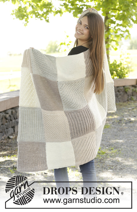 A Patch of Comfort / DROPS 157-21 - Free knitting patterns by DROPS ...