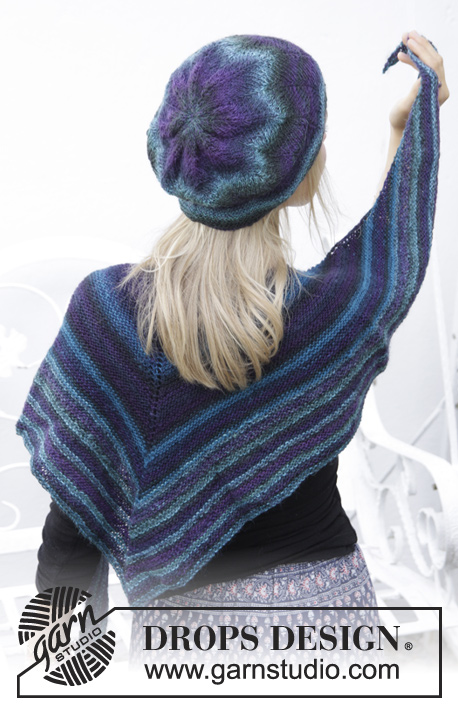 County Lines Drops 157 42 Free Knitting Patterns By Drops Design