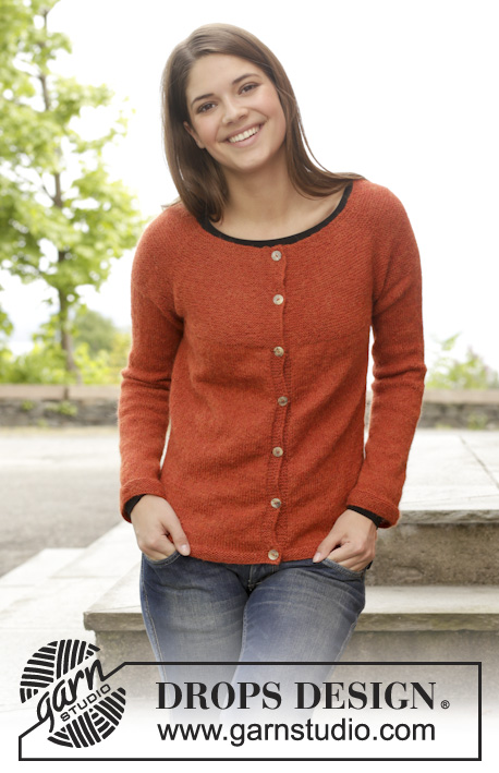 Take It Easy Cardigan Drops 158 2 Free Knitting Patterns By