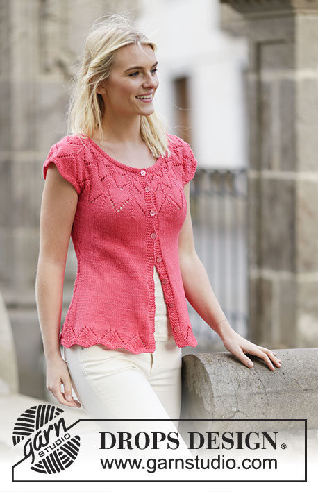 68653e21b11526 Call It Spring Cardigan   DROPS 159-5 - Free knitting patterns by DROPS  Design