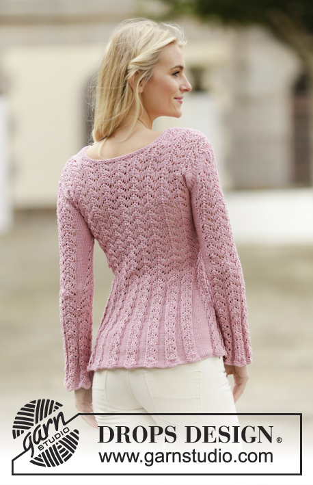 f6c9d40f514c Love Is In The Air Cardigan   DROPS 160-2 - Free knitting patterns by DROPS  Design
