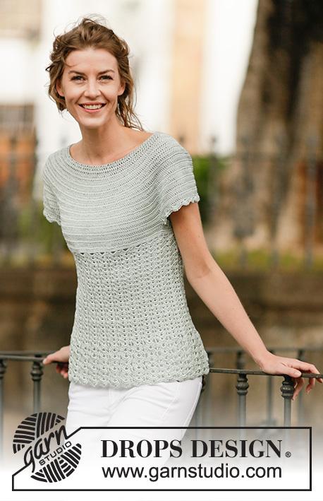 Lady Ascot Drops 162 26 Free Crochet Patterns By Drops Design
