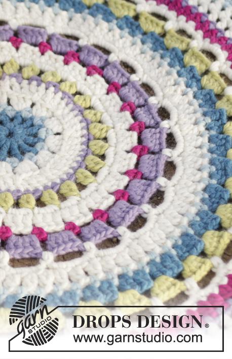 Color Wheel / DROPS 162-43 - Patrones de ganchillo gratuitos por ...