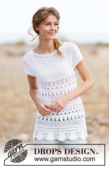 Lacey Days Drops 162 6 Modèles Crochet Gratuits De Drops Design