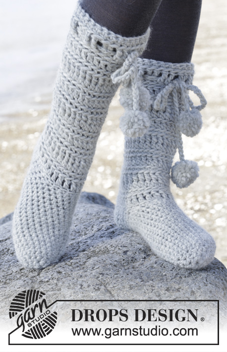 Arctic / DROPS 163-13 - Free crochet pattern by DROPS Design