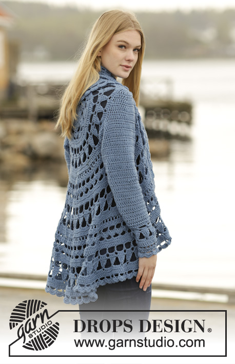 Sea Glass Drops 164 16 Free Crochet Patterns By Drops Design