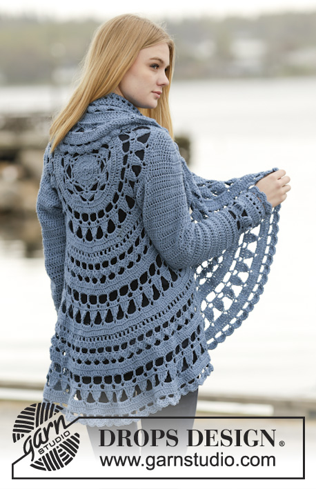 bd4bccfb729710 Sea Glass   DROPS 164-16 - Free crochet patterns by DROPS Design
