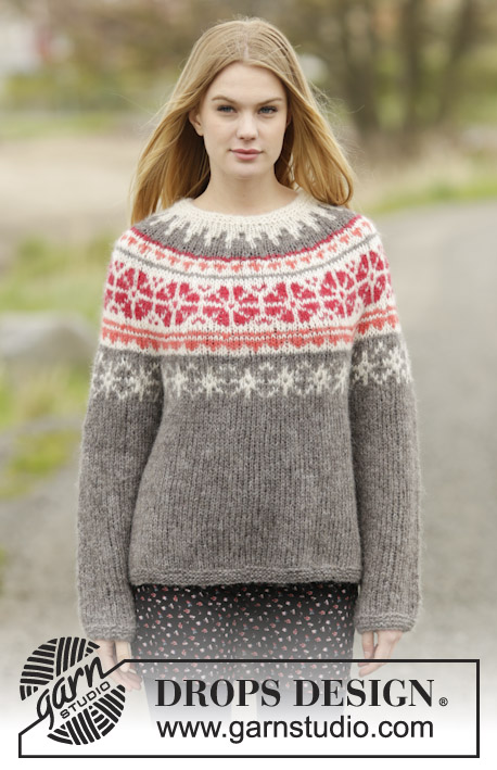 Petunia / DROPS 164-45 - Free knitting patterns by DROPS Design