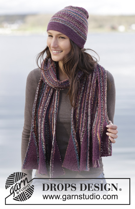 a2fc37537a2 Flutter   DROPS 165-25 - Free knitting patterns by DROPS Design
