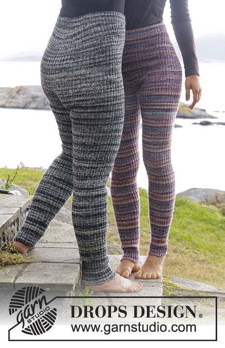 stickade leggings dam