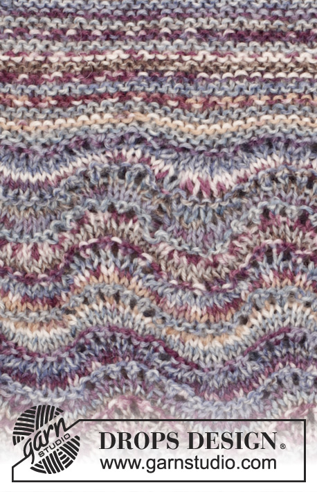 Arctic Ocean Sweater Drops 165 35 Free Knitting Patterns By