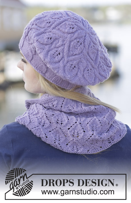 Dancing Leaves / DROPS 165-39 - Free knitting patterns by
