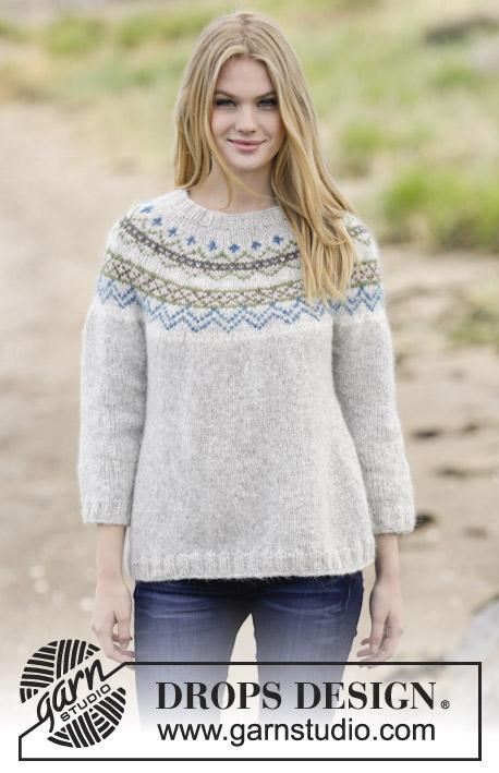 Sjona / DROPS 166-1 - Free knitting patterns by DROPS Design