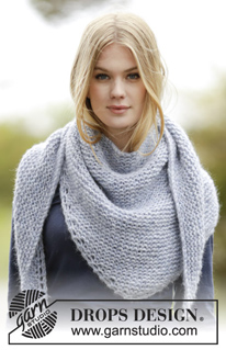 Ponchos Shawls Free Knitting Patterns And Crochet Patterns By