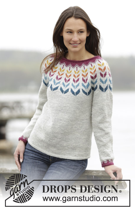 Joyride Drops 166 3 Free Knitting Patterns By Drops Design