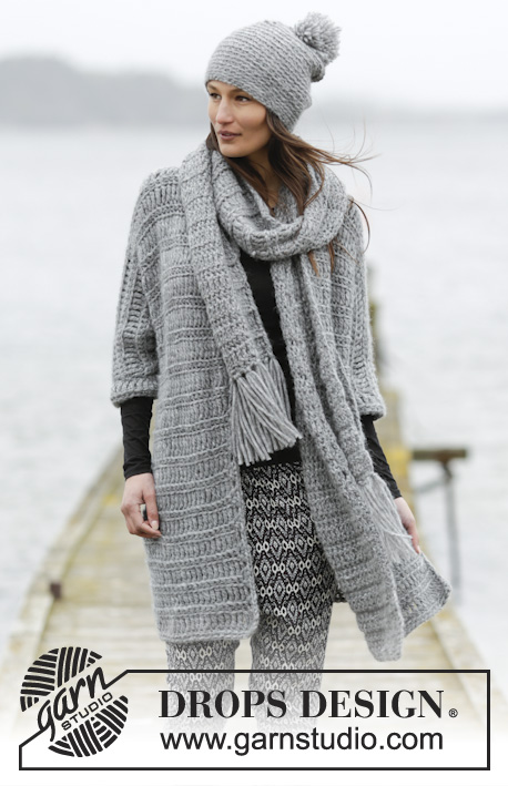 Loch Ness Drops 166 6 Free Crochet Patterns By Drops Design