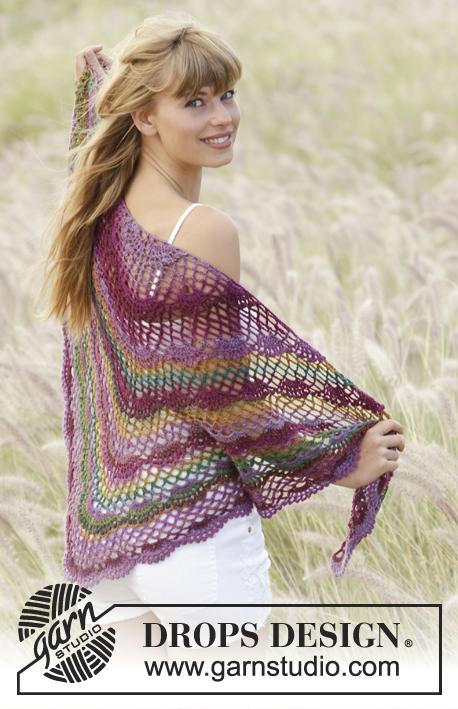 Summer Fling Drops 167 20 Modèles Crochet Gratuits De Drops Design