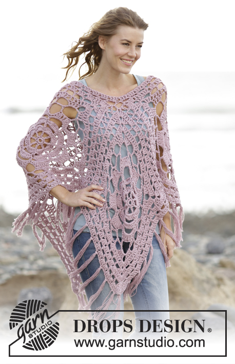 Rhapsody In Rose Drops 167 22 Free Crochet Patterns By Drops Design