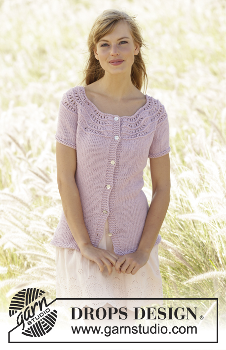 Becca Cardigan Drops 167 3 Free Knitting Patterns By Drops Design